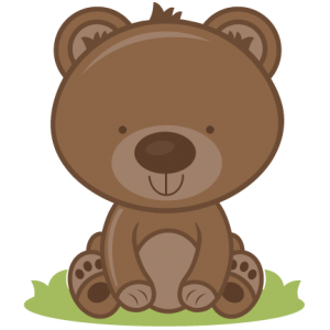 Baby Bear SVG cutting files bear svg cut file baby bear svg file for scrapbooking
