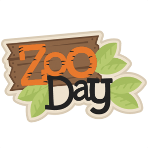 Zoo Day Scrapbook svg title zoo day svg scrapbook title zoo svg cut files for scrapbooking