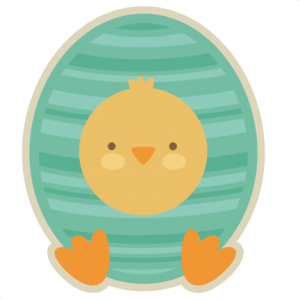Chick In Egg SVG cut file chick in egg svg cut file spring svg cut files free svgs