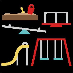 Playground Set SVG cutting files playground svg cut files slide svg cuts play svg cut files free svgs