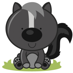 Baby Skunk SVG cutting files for scrapbooking skunk svg cut file free svgs
