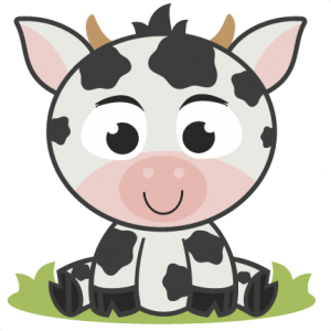 Baby Cow SVG cutting file for scrapbooking free svg cuts free svg files baby cow svg cut file