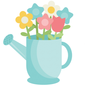 Warering Can SVG cutting file for scrapbooking watering can svg cut files spring svg files spring svg cut files