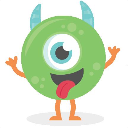 Green Monster SVG cutt...