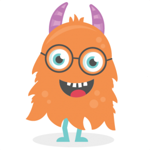 Nerdyl Monster SVG cutting file monster svg cut files for scrapbooking scal files scut files mtc files