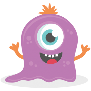 Slimy Monster SVG cutting file monster svg cut files for scrapbooking scal files scut files mtc files