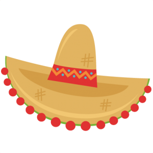 Sombrero SVG cutting file sombrero clipart free svg cuts free svg files free svg scrapbook cuts