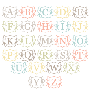 Monogram SVG cut files for scrapbooking free svg files free svg cuts free svg cut files