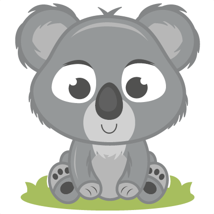 Baby Koala SVG Cutting File Svg Cut Free Svgs