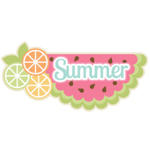 Summer  SVG scrapbook title summer svg cut files summer svg scrapbooking title scal files