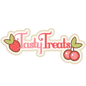 Tasty Treats Title SVG scrapbook title svg scrapbook title free svg cuts