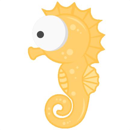 Seahorse SVG scrapbook title beach svg cut file ocean svg ...