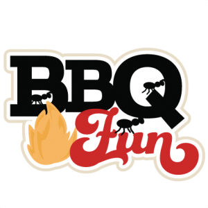 BBQ Fun scrapbook title SVG cutting files summer svg cut files grill svg files ketchup mustard cut files free cuts for cricut