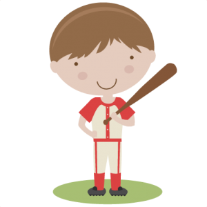 Boy Baseball Player SVG scrapbook title baseball svg title baseball svg cut files baseball title svg cut files