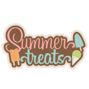 Summer Treats SVG scrapbook title cutting files summer svg cut files popsicle evg cuts cute svg cut files for cricut