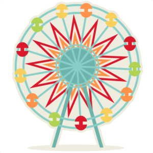 Ferris Wheel SVG cutting file for scrapbooking svg cut files for cricut cut files free cut files cute svg cuts