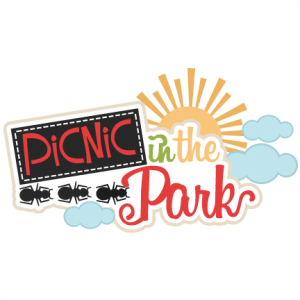 Picnic in the Park Scrapbook  Title SVG cutting file ant svg cut file summer svg cuts summer scal files for cricut free cut files