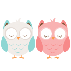 Boy & Girl Owl SVG cutting file cute owl clipart free svg cut files free svg cut files for cricut cute svgs
