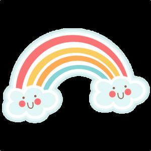 Cute rainbow SVG cutting files rainbow svg cut file rainbow svg cut file summer svg cut file free svgs