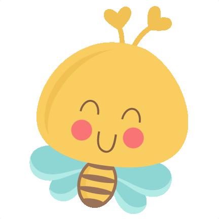 Cute Bee SVG scrapbook title SVG cutting files bee svg ...