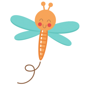 Happy Dragonfly SVG cutting file for scrapbooking dragonfly svg cuts frog svg cut files cute svg cut files for cricut