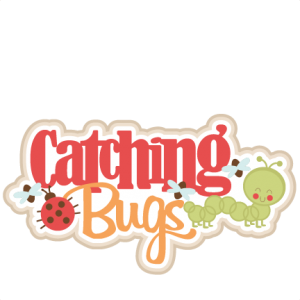 Catching Bugs SVG scrapbook title bugs svg cut files caterpillar svg cut file cute cut files for cricut