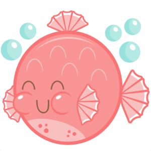 Cute Puffer Fish SVG cutting file free svg cuts cute svg cut files for cricut cute cut files for scal scut free files