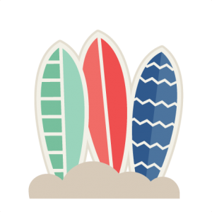 Surfboards svg cut file beach svg cutting files for cricut cute cut files scal files scut files cute beach svg cuts