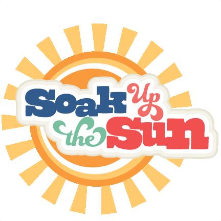 Soak Up The Sun Svg Scrapbook Title Beach Svg Scrapbook Title Beach