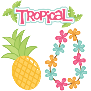 Tropical Set SVG cutting files for scrapbooking veach svg cut files vacation svg cut files for cricut