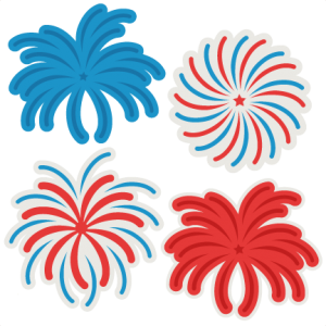 Firework Set SVG cutting file firework svg cut file for cricut svg cut files cute svg cuts