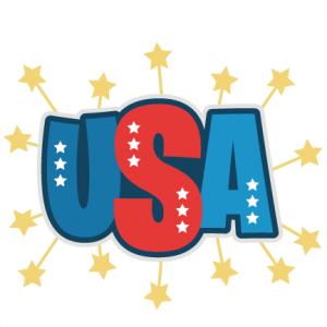 USA SVG scrapbook title independence day svg cut files for cricut cute svg cuts