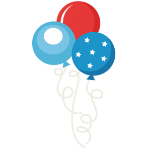 4th of July Balloon Set SVG scrapbook  independence day svg cut files cute svg files for cricut svg cuts