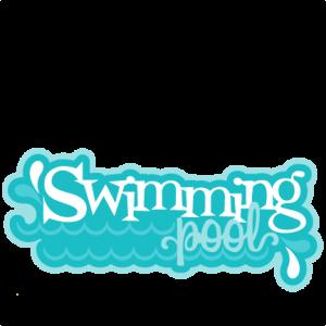 Swimming Pool SVG scrapbook title water park svg cut files for cricut cute cut files cute svg cuts