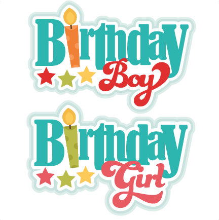 Birthday Titles Svg Scrapbook Birthday Svg Cut Files