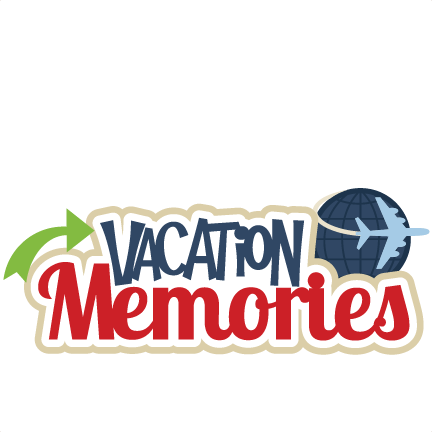 Vacation Memories SVG scrapbook title SVG cutting file ...