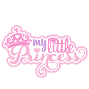 My Little Princess SVG scrapbook title princess svg cut files for circut cute cut files cricut cute svg cuts