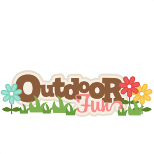 Outdoor Fun Scrapbook Title SVG cutting files free svg cuts camping svg cut files free scal files for scrapbooks