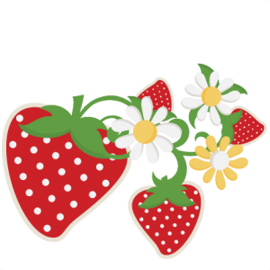 Strawberries SVG cutting files fruit svg cuts strawberries scal files cutting files for cricut free svgs