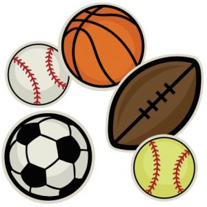 Sports Ball Collection SVG cutting file for scrapbooking sports ball svg cut files free svgs cute clip art