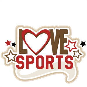 Love Sports SVG cutting files for scrapbooking sports balls clipart sports svg cut files cricut cut files free svgs