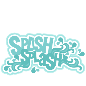 Splish Splash SVG scrapbook title ocean svg cut files for cricuts cute cut files cute svgs free svg cuts