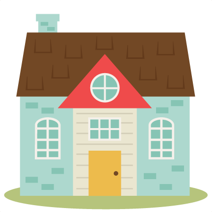 Cute house set svg cutting files home svg cut file free for Photos of cute houses