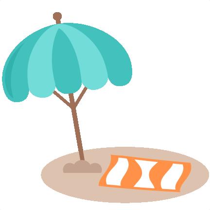 Beach Umbrella SVG cut file free svg cuts summer svgs ...