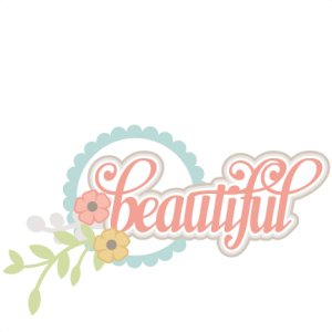 Beautiful SVG scrapbook title flower svg cuts cute svg files cute svg cut files for cricut