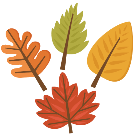 Fall Leaf Set SVG cutting files for scrapbooking fall svg ...