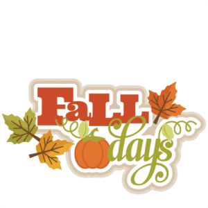Fall Days SVG scrapbook title SVG cutting files for scrapbooking fall svg cut files for cricut cute cut files free svg cuts