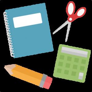 School Set  SVG cutting file for scrapbooking free svg cuts free svg cut files cute cut files for cricut