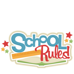 School Rules! SVG scrapbook title school svg cut files cricut cut files for scrapbooking cute svg cuts free svgs