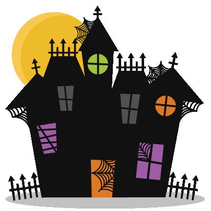 Haunted House SVG cutting files bat svg cut file halloween ...